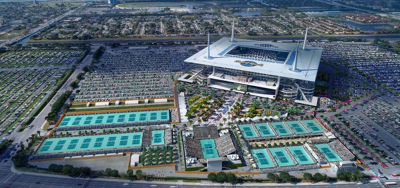 Hard Rock Stadium & Miami Open - Miami Gardens, FL